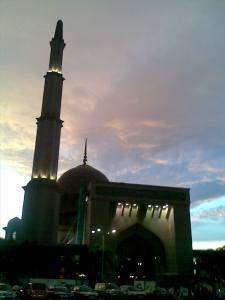 ..masjid Putrajaya...