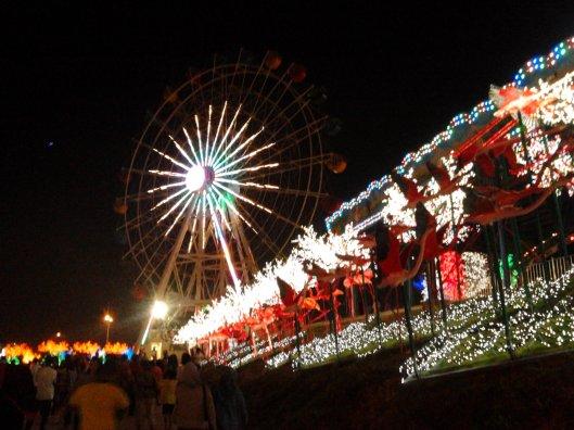 Ferris wheel, i-city