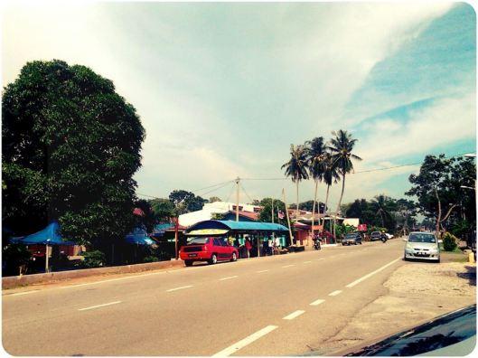 Gerai area Padang Temu/Ujong Pasir..