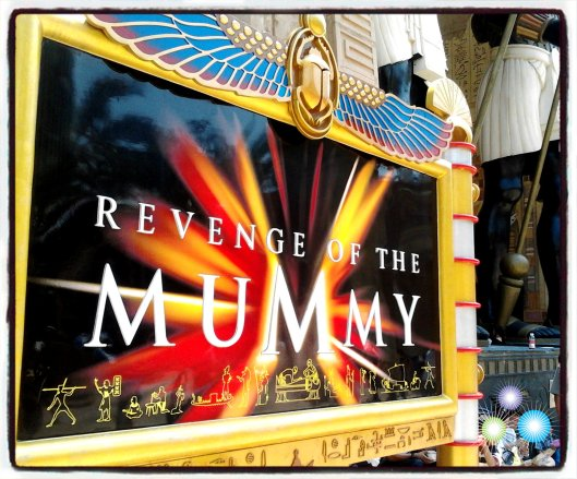 Revenge of the Mummy, Ancient Egypt, USS