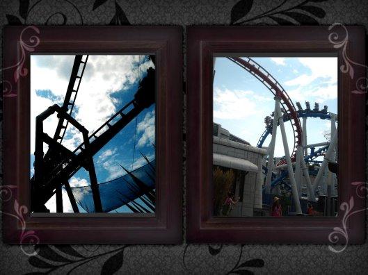 Human & Cyclon roller coaster, USS