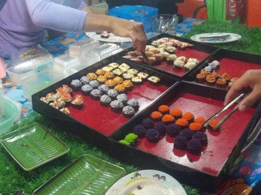street sushi..