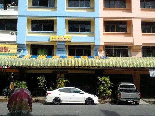 JP Mansion, Krabi town..