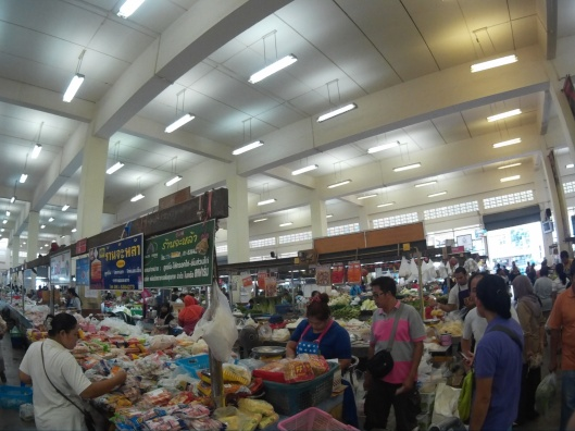 view inside Maharaj market