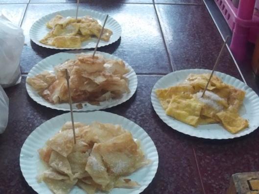 pancake or roti canai+gula