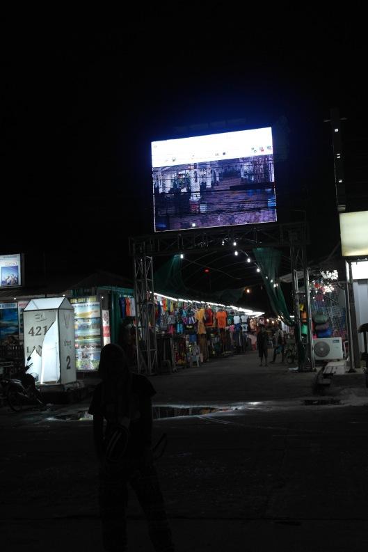 street market at Ban Saladan