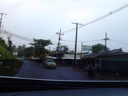 junction to Klong Nin beach