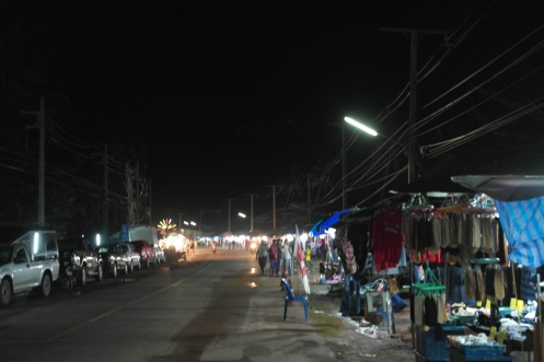 at night market [Koh Lanta]