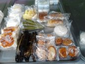 choices of breakfast at Klong Nin area (near 7E)...