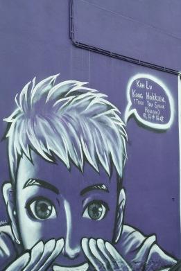 ~Street art, Penang...