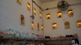 ~souvenir shop at swiss sheep farm..