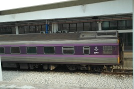 ~purple train from Penang to Bangkok..