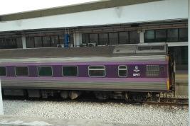 ~purple train from Penang to Bangkok..