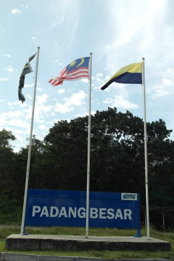 ~stopped by at Padang Besar to go thru the immigration process..