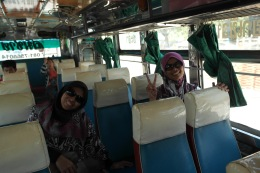 ~local bus from swiss sheep farm to cha-am town..