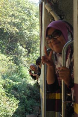 ~at Tham krase wooden bridge (death railway)