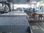 food court area Kompleks Tanah Abang, Jakarta
