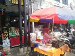 street food, Jakarta