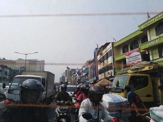 area tepi jalan near Tanah Abang