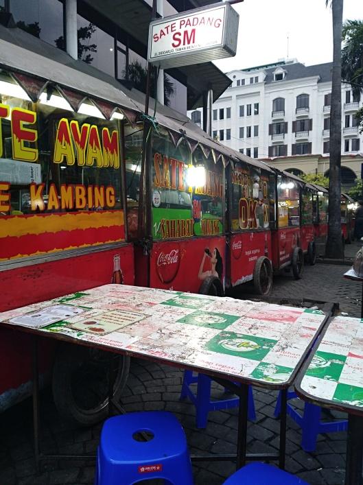 Street food (beside ibis budget hotel Jakarta Menteng)