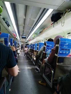 train Argo prahyangan Jakarta-Bandung