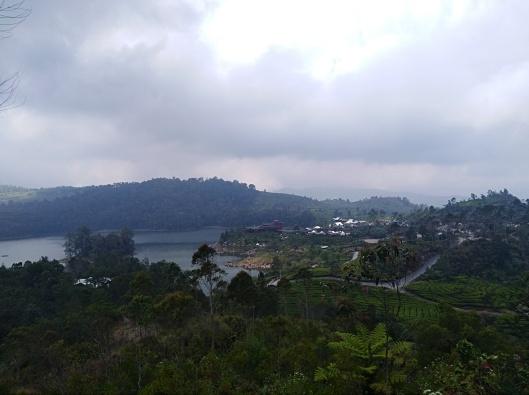view from Teras Bintang, Ciwidey, Bandung