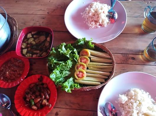 set Nasi Liwet, Rumah Nenek resto & cafe