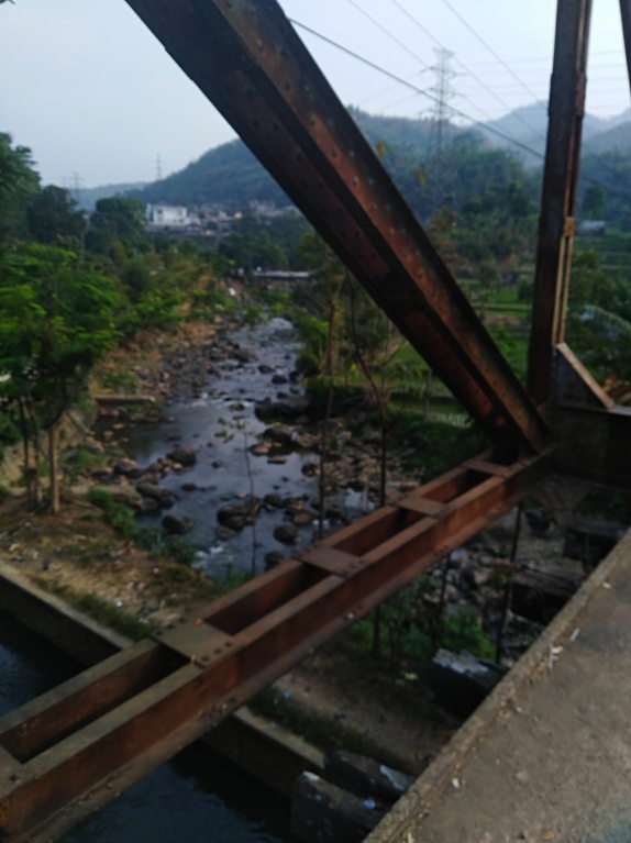 jalur keretapi cikudapateuh, ciwidey, Bandung