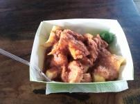 Food at Floating Market Lembang, Bandung