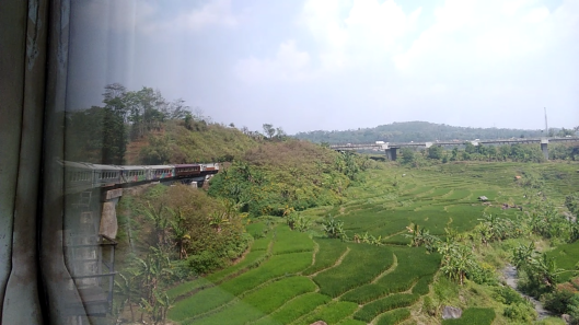 by train : Jakarta to Bandung