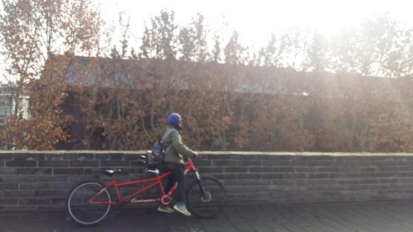 xian city wall, china