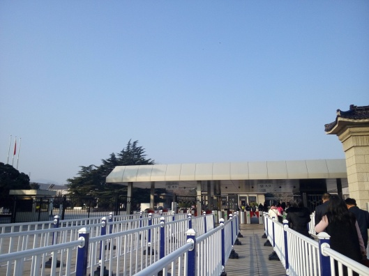 at terracotta warrior & horses museum, xian, china