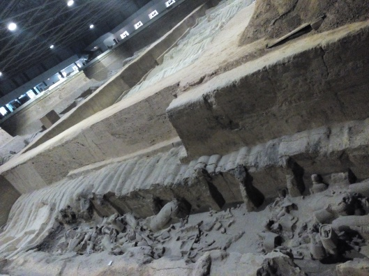 terracotta warriors and horses (pit 3)
