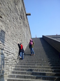 xian city wall, china