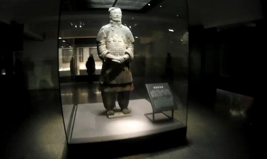 terracotta warrior, xian (pit 3)