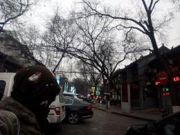 the Beiyuanmen muslim quarter street, xian