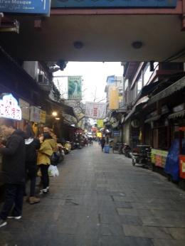 muslim quarter street, xian