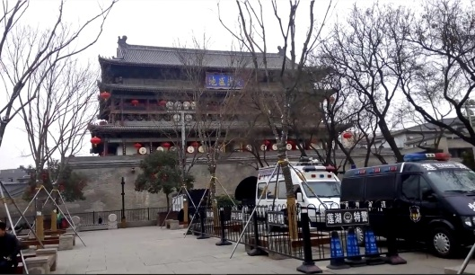 drum tower, xian