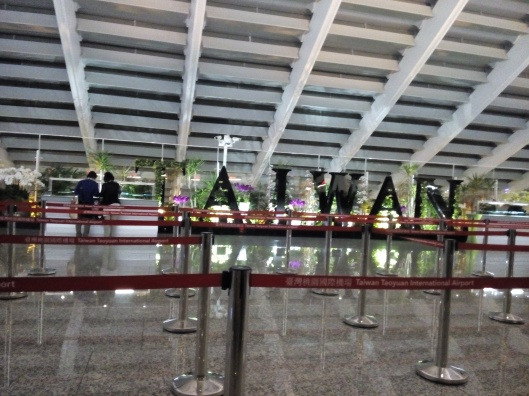 Taiwan, Taoyuan airport terminal 1