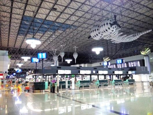 Taoyuan airport, taiwan, terminal 2