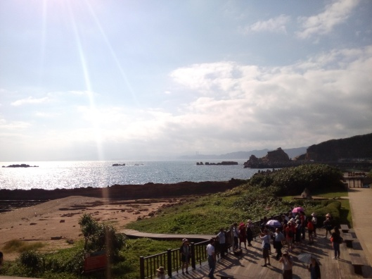 at Yehliu Geopark