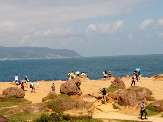Gorilla rock at Yehliu Geopark