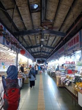 (exit) market at Yehliu Geopark