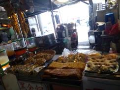 market at Yehliu Geopark