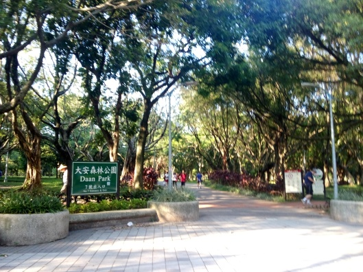 Daan Park, Taipei