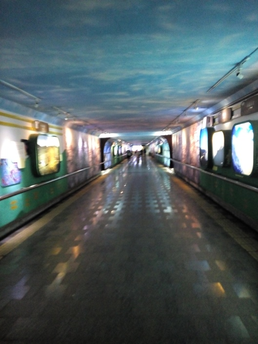 underpass di station Hualien