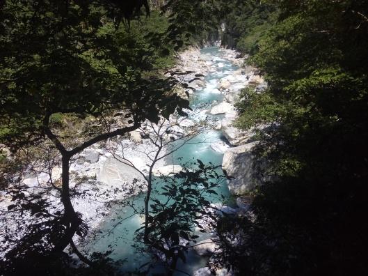 Shakadang river, Taroko gorge, Hualien, Taiwan