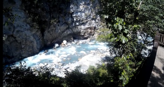 shakadang river, Taroko gorge