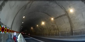 tunnel to Xiaozhuilu trail, Taroko gorge