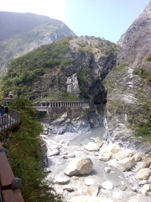 Taroko gorge, swallow grotto